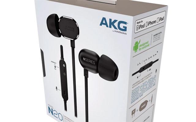AKG N20U In-Ear Headphones