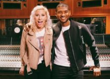 Andie Case and Usher