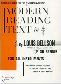 Modern Reading Text in 4/4 Time