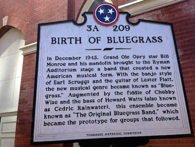Birth of bluegrass