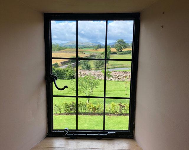 Emma King's window