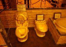 gold-toilet