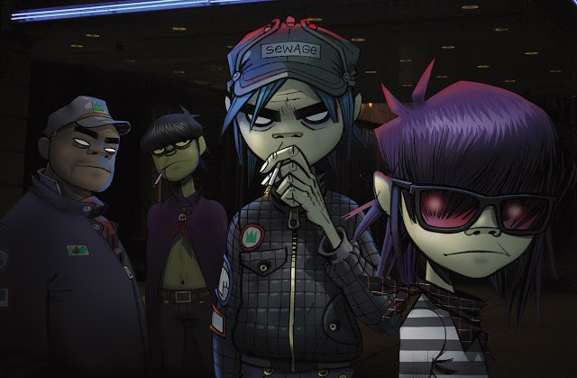 """Jamie Hewlett: """"I'm very excited. I don't want to say too much about it, but I'm at that phase of experimentation."""""""