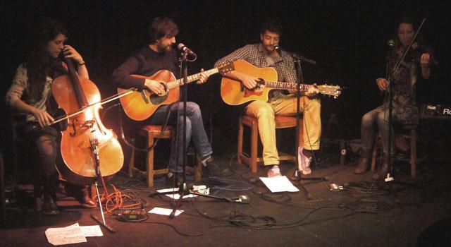 Martin Callingham live at the Alma Tavern Theatre, Bristol
