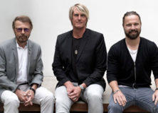 Björn Ulvaeus, Niclas Molinder and Max Martin