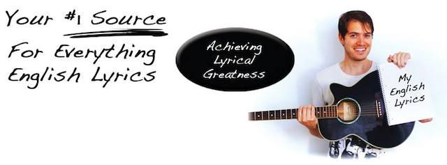 MyEnglishLyrics Banner