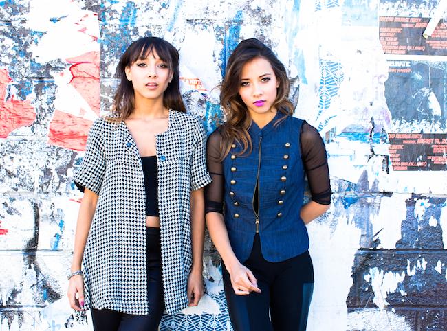 Nalani & Sarina: singin' loud and sayin' something