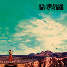 Noel Gallagher's High Flying Birds 'Who Built The Moon' album cover