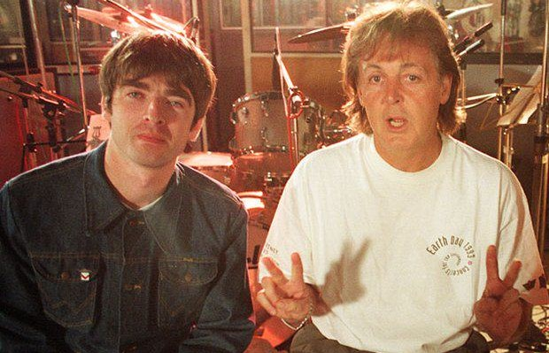 Noel Gallagher & Paul McCartney
