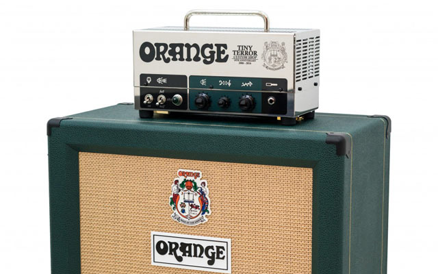 Orange's Tiny Terror 10th anniversary half stack