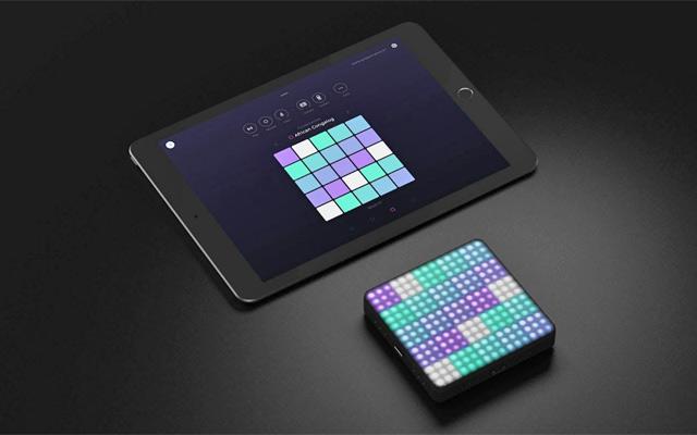 ROLI's Lightpad Block and Noise on iPad
