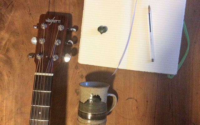 Rebecca Nelson of Faeland's #songwritingsurvivalkit
