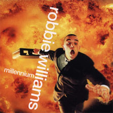 Robbie Williams 'Millennium' single cover