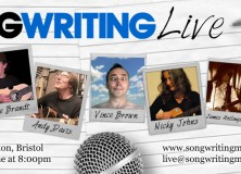 Songwriting Live, Bristol banner – 24 Jun