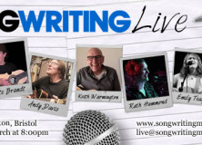 Songwriting Live – 25 March 2014