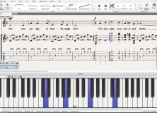 Sibelius First v7 screenshot