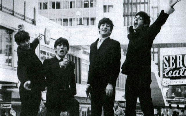 The Beatles in Hötorgscity, Stockholm 1963