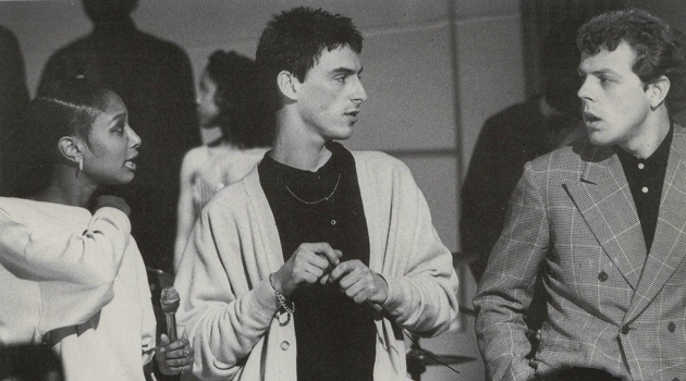 The Style Council (with Dee C Lee, left)