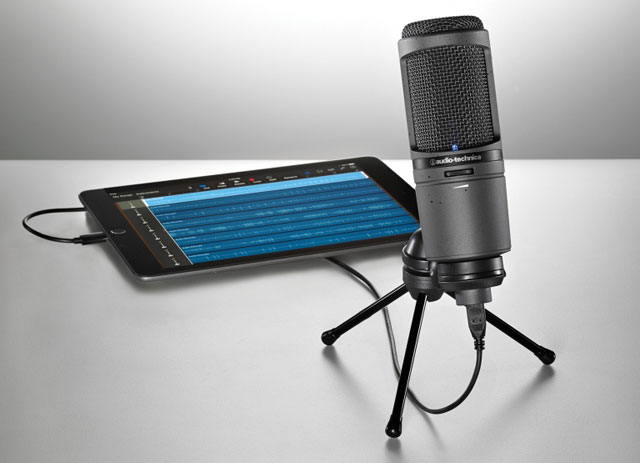 Audio-Technica AT2020USBi microphone