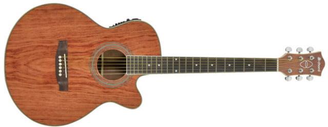 Chord Native N4BB Bubinga electro-acoustic guitar