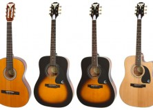 Epiphone Pro-1 Collection guitars