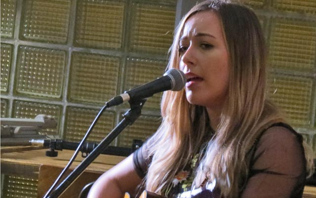 Danielle Celeste at Funnel Music Songwriting Live