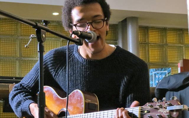 Zak Christie at Funnel Music Songwriting Live