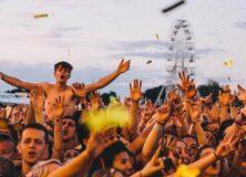 Isle Of Wight Festival crowd