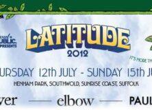 Latitude Festival 2012 poster top