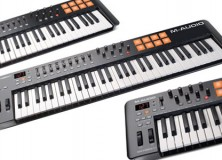 M-Audio Oxygen keyboards