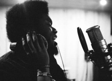 Michael Kiwanuka in the studio