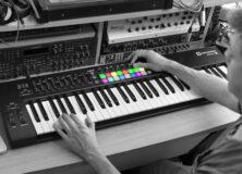Novation LaunchKey keyboard controller
