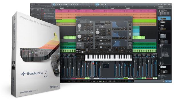 PreSonus Studio One 3 screenshot