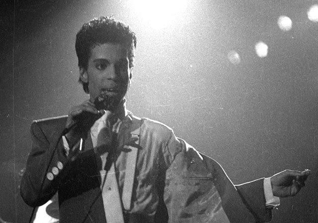 Prince in Brussels, Belgium in 1986