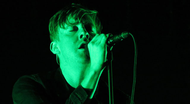 Ricky Wilson of Kaiser Chiefs at Camp Bestival 2015