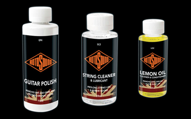 Rotosound guitar care products