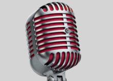 Shure 5575LE Unidyne microphone