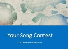 Your Songwriting Contest